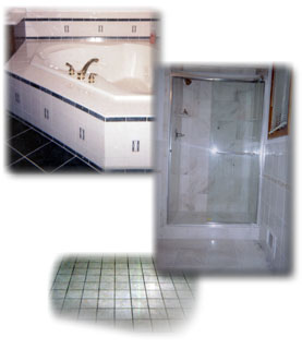 Marble, Ceramic and Porcelain tile walls and floors for kitchens and bathrooms.